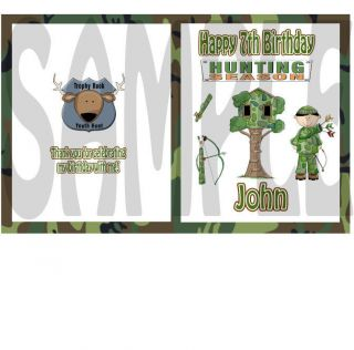 10 Hunting Deer Camouflage COLORING BOOKS BIRTHDAY PARTY FAVORS
