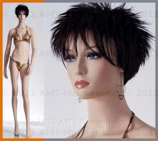 Female mannequin display skin color full body binkini beautiful