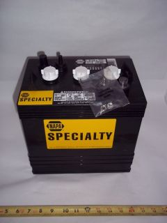 8144, Napa Battery, 6 Volt Golf Cart SN 292067, 120 Mins @ 75 Amps BCI