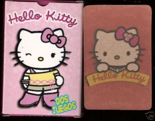 HELLO KITTY rare ARGENTINA cards set BOXED nice deck