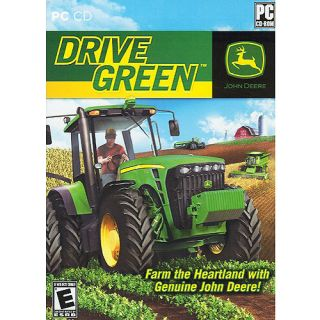 John Deere Drive Green Farm Sim Simulation PC Game Brand New/Sealed