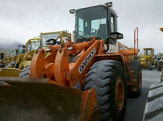 construction equipment in Wheel Loaders