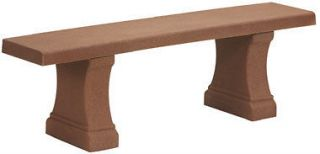 Concrete Garden Bench in Patio & Garden Furniture