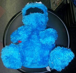 10 Talking Sesame Street Cookie Monster with Backpack and 2 Cookies