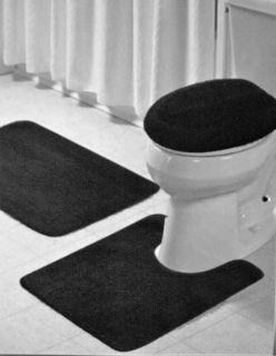 Pc. Bathroom Mat/Rug SETBath and Contour Rug/Mat+Toilet Seat Cover