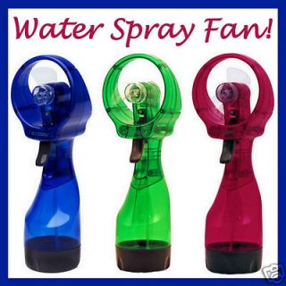 New Portable Water Mist Spray Misting Cooling Cool Fan