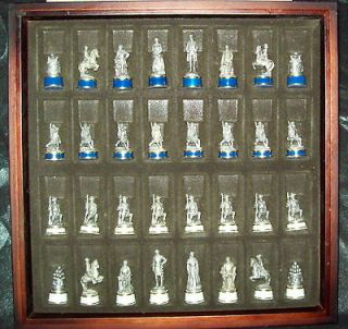 National Historical Society Civil War Chess Set by the Franklin Mint