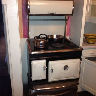 Stove Works Cream Vintage Style Electric Range Cooks Delight Cooks