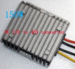 DC DC Converter 12V Step Up to 48V with 3A/150W Power Supply 12 to 48V