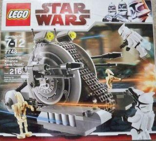 Lego Star Wars 7748 Corporate Alliance Tank Droid NEW SEALED NISB