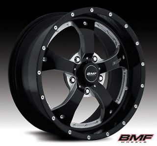 20 BMF NOVAKANE DEATH METAL WITH 33X12.50X20 TOYO OPEN COUNTRY MT