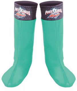 Green Ranger Boot Covers   Disneys Power Rangers Costume Accessories