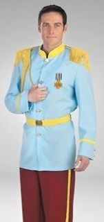 Mens Halloween Couples Costume Prince Charming sz 42 46