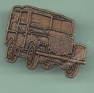 ANTIQUE LAND ROVER PIN BADGE SERIES 1 1948 SOLID COPPER