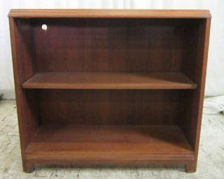 Shelf Walnut Wood Veneer Bookcase