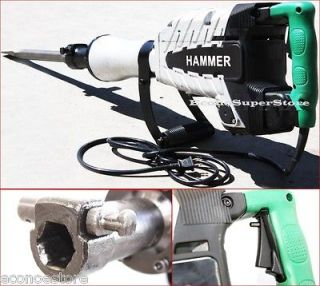 HD 2200W Demolition Concrete Jack Hammer Breaker 2200 Watts w/ 2