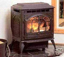 VINTAGE CAST IRON CORN WOOD PELLET STOVE FURNACE (NEW)