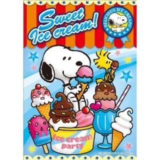 sha Jigsaw Puzzle 1 94 Peanuts Snoopy Sweet Ice Cream (108 Pieces