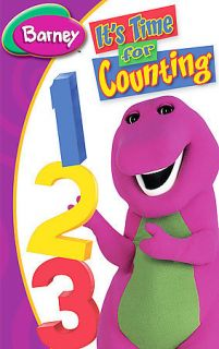 barney its time for counting in VHS Tapes