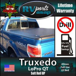 Tonneau Cover Truxedo Lo Pro QT Roll Up Truck Bed Made to fit over 100