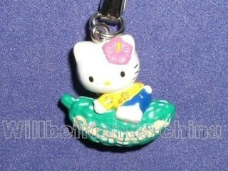 Hello kitty Balsam Pear Momordica Cell Phone Charm Cute