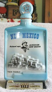 1968 Jim Beam Whiskey New Mexico Richard says Discover New Mexico