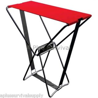 Folding Portable Pocket Chair   Great for Sports Games Travel Hiking