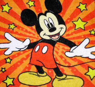 Towels W/Crochet Tops Kitchen/Bathroom Listing Disney Mickey Mouse