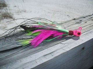 WILD #3 Custom Cobia/Deep / Jig Saltwater Fishing   3oz   Pink