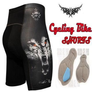 mens triathlon Cycle Bicycle Bike cyclist 12mm gel padded tight shorts