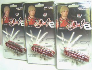 dale earnhardt jr knife set