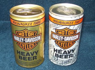 Harley Davidson Motor Cycles Heavy Beer~Milwaukee 1987~1988~Jos Huber