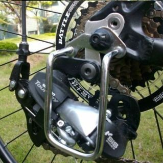New Cycling Bike Steel Iron Bicycle Rear Derailleur Chain Guard