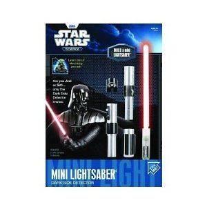Darth Vader Star Wars Dark Side Mini Lightsaber Light Saber Science
