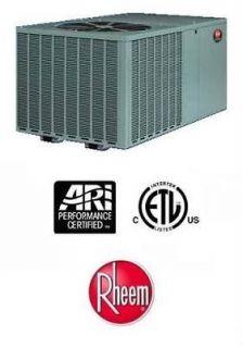 Rheem R410A Packaged Heat Pumps 13 SEER 4 Ton