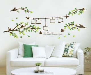 and Fresh Tree DECOR DECAL ART Wall Sticker Removable Decorative NEW