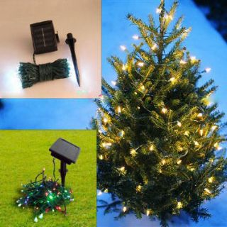 100 pcs LED Solar Powered String Lights / Christmas / Gardens