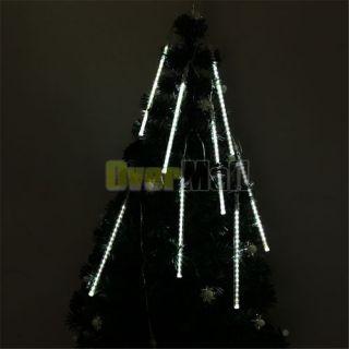 24cm 160Leds Shower Meteor Rain Light Tube Christmas Decoration Lights
