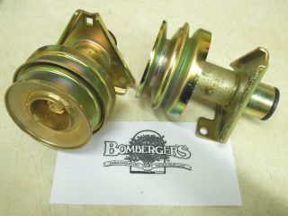 John Deere douyble stack pulley for stx 46 with power flow blower