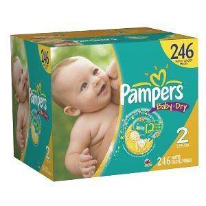 pampers diapers in Diapering