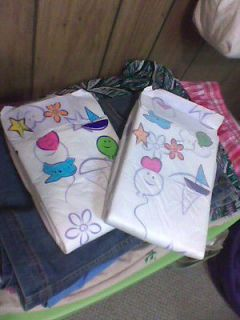 Backed & 1 Cloth Like Cushies. Adult Diapers Sz Medium ABDL Adult Baby