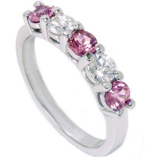 Sapphire & Genuine Diamond Wedding Anniversary Ring White Gold Guard