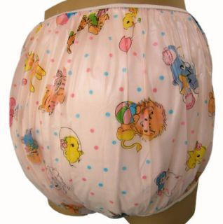 Adult Baby Plastic Pants over Diapers, like Gerber Baby