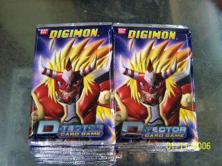 tcg Digimon D Tector card Season 4 Ban dai 1st ED. game booster box 24