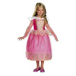 Disney Princess Sleeping beauty Aurora costume girl dress up 4 5 6 6X