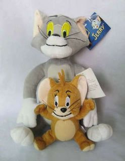 10 Tom and Jerry Soft Plush Doll Toy New