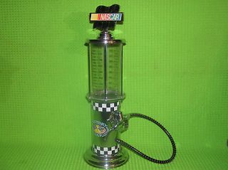 NASCAR Liquior Beverage Dispenser 32oz. Antique Visible Gas Pump