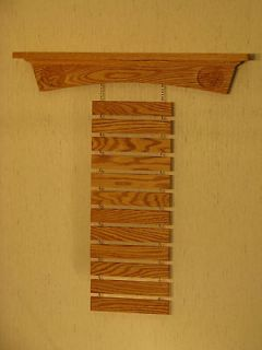 Arch Kickers, Oak Martial Arts Belt Display Rack Karate Tae Kwon Do