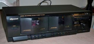 700 Double Cassette Dual Deck Player Recorder Dual Cassette Deck