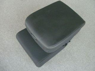 Dodge Ram black front middle seat center console w/storage bin